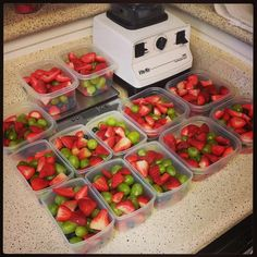 Meal prep is key to snacking happy!
