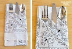 A Special Occasion Napkin Fold