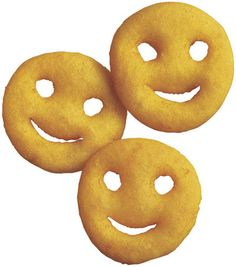 Smiley faces for school dinners!