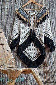 Click to view pattern for - Crochet poncho