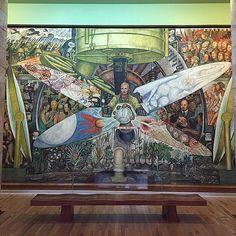 Diego Rivera.  (at Palacio de Bellas Artes)