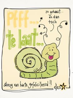 jarig te laat 221 best verjaardag images on Pinterest | Birthday cards, Happy b  jarig te laat