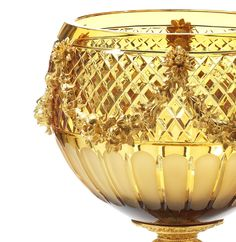 Crystal vase by Il Bronzetto