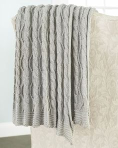 Marcel Afghan Knitting Pattern : 1000+ ideas about Cable Knit Blankets on Pinterest Cable ...
