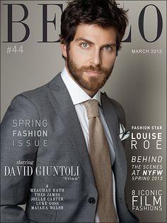 Picture About Male Model  NBC's Supernatural Crime Drama 'Grimm David Giuntoli in Bello Mag