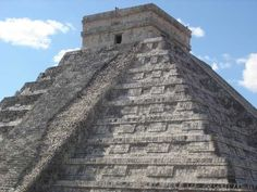 Pyramid of Kukulcan, Chichen Itze, Mexico