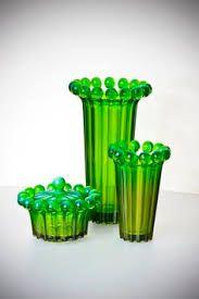 Zestaw Radiant - projekt J. Green Zone, Interior Garden, Glass Ceramic, Porcelain Ceramics, Vintage Glassware, Mid Century Design, Stained Glass Windows, Pottery Art, Shot Glass