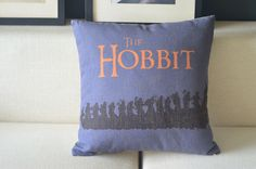 """Movie Posters The Lord Of The Rings The Hobbit Pillow Case Decor Cushion Cover Square 18"""" 45cm PQ623-in Cushion Cover from Home & Garden on Aliexpress.com"""