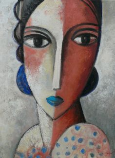 Oil on canvas Past - Didier Lourenço