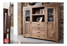 Acacia furniture living room - Best Home Decorating Ideas - How To Design A Room - homehomedecor Wood Furniture Living Room, Home Furniture, Bedroom Closet Design, Smart Home, Tall Cabinet Storage, Home Accessories, Bookcase, Shelves, Home Decor