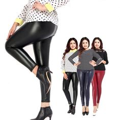 It''s all in a name, Simply Morgan's.   Now Available in our Store: Extra Large Faux Leather Pants   Check it out here! [product-url ]