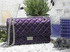 A purple Chanel purse? Not sure it gets any better than this!