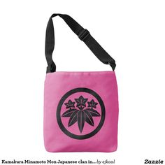 Kamakura Minamoto Mon Japanese clan in light blue Tote Bag