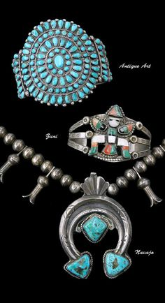 Old Navajo & Zuni Art