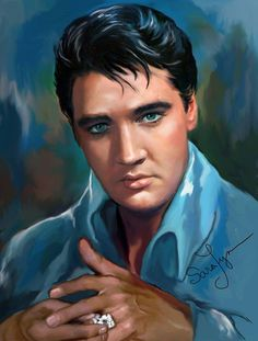 """( ☞ 2017 IN MEMORY OF ★ † ELVIS  PRESLEY ★ 40 YEARS AGO (1977 - 2017) """" Rock & roll ♫ pop ♫ rockabilly ♫ country ♫ blues ♫ gospel ♫ rhythm & blues ♫ """" ) ★ † ♪♫♪♪ Elvis Aaron Presley - Tuesday, January 08, 1935 - 5' 11¾"""" - Tupelo, Mississippi, USA. † Died; Tuesday, August 16, 1977 (aged of 42) Resting place Graceland, Memphis, Tennessee, USA. Cause of death: (cardiac arrhythmia)."""