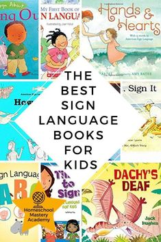Sign Language is an excellent way to expand your child's communication skills. Here are our favorite books for introducing American Sign Language at home. Sign Language Book, Sign Language For Kids, Sign Language Phrases, Sign Language Interpreter, Learn Sign Language, British Sign Language, Second Language, French Language, Learn Asl Online