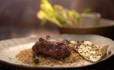 Ibby & Romel's Kibbeh Nayyeh with Nigella Seed Lavosh My Kitchen Rules, Kitchen Stories, Kitchen Dining, Kitchen Decor, Nigella Seeds, Kitchen Posters, Pomegranate Molasses, Lebanese Recipes, Lamb
