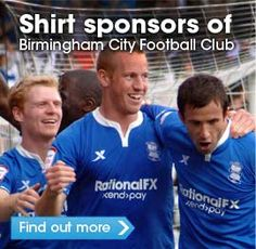RationalFX - Shirt Sponsors of Birmingham City Football Club 2011/12.