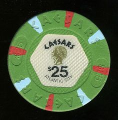 Atlantic City Casino Chip of the Day is a $25 Caesars 1st issue you can get here http://www.all-chips.com/ChipDetail.php?ChipID=17345