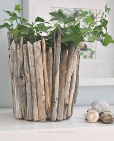 rustic outdoor planters Driftwood planters for sale Driftwood Planters, Rustic Planters, Driftwood Projects, Outdoor Planters, Driftwood Art, Garden Planters, Driftwood Ideas, Planters For Sale, Deco Nature
