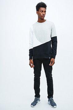 Worland Black Slash Sweatshirt