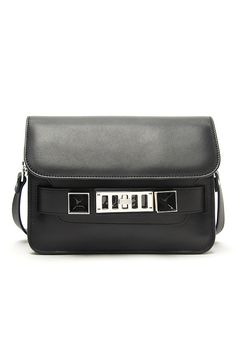 Classic Black on #ShopBAZAAR: Proenza Schouler PS11 Mini Classic Bag