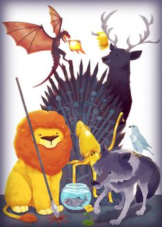 Fantastic Collection of GAME OF THRONES Fan Art