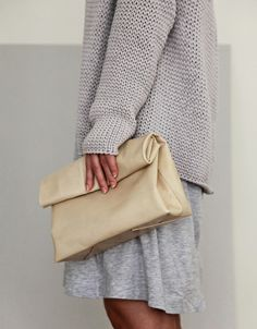 love the sweater, skirt and bag