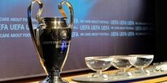 UEFA Champions League play-off round draw! Uefa Draw, Champions League Draw, League Table, Football Images, European Cup, English Premier League, White Wine, Alcoholic Drinks, England