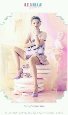 Le Silla advertising campaign SS 2013