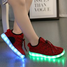 A MD Kids Yeezy Light Up Shoes 220c11f516