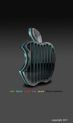 apple 3D lueur interne by cooliographistyle.deviantart.com