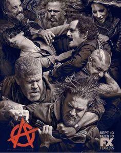 Viendo la nueva temporada de Sons of Anarchy, el cartel de la temporada refleja perfectamente el estado del MC