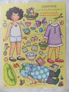 Mary Engelbreit Josephine Paper Doll Ann Estelle's Friend