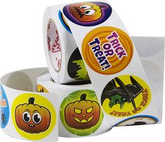 Spooky Halloween Stickers 500 Pack Only $8.95!