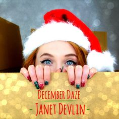 """Cryptic Rock Reviews Janet Devlin's 'December Daze' EP - http://www.okgoodrecords.com/blog/2015/11/24/cryptic-rock-reviews-janet-devlins-december-daze-ep/ - Janet Devlin's new EP, December Daze, has just received a 5 out of 5 review from music blog Cryptic Rock. """"Inspired by a trip to New York City, Devlin decided to write a holiday themed song, and as the holidays are steadily creeping closer, it is the perfect time for some... - christmas, Cryptic Rock, December"""