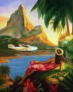 Vintage Hawaiian Art