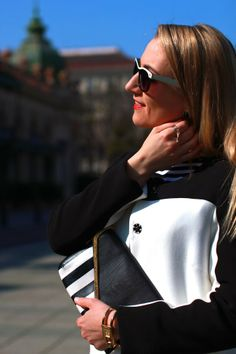pants - Mango / top - Zara / rings, coat - C&A / sneakers - Nike via Deichmann / clutch - Vero Moda / sunglasses - no name / watch - Burberry / earrings - Majolie Mango Tops, No Name, Burberry, Zara, Challenges, Sneakers Nike, Sunglasses, Watch, Coat