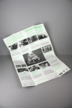 LOA+DS Education Workshops Guide A2Poster/Mailer on the Behance Network
