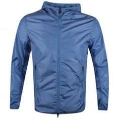 Colmar Originals Blue Lightweight Zip Through Hooded Jacket. Available now at www.brother2brother.co.uk
