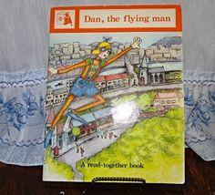 Dan the flying man vintage book Joy Cowley 1983 by streetcrossing