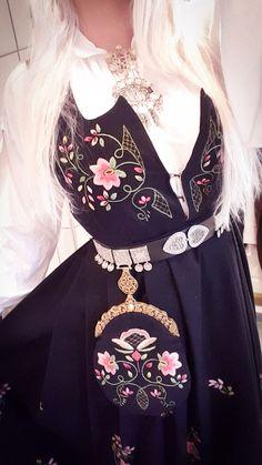 Norwegian Lundeby bunad Norway, All Things, Dress Up, Fashion, Moda, Costume, La Mode, Fasion, Fashion Models