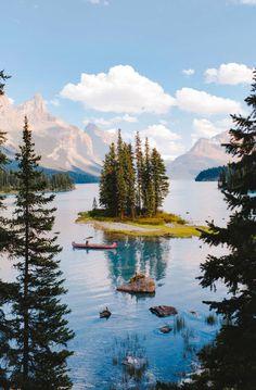 ***Spirit Island Summer (Maligne Lake, Jasper, BC) by Alex Strohl E