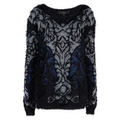 Rock and Rags by Firetrap Metallic Jumper