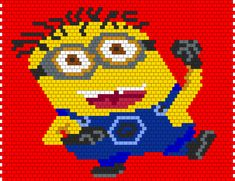 Minion bead pattern