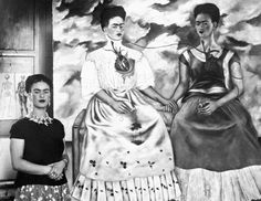 "Frida Kahlo y "" las dos Fridas"" 1939"