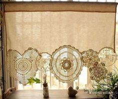 BOHO Vintage häkeln Doilies Shabby Chic Französisch Land Fenster Cafe Vorhang Vintage Spitze Creme - Welcome to our website, We hope you are satisfied with the content we offer. Shabby French Chic, Shabby Chic Français, Cocina Shabby Chic, Shabby Chic Zimmer, Shabby Chic Bedrooms, Shabby Chic Kitchen, Shabby Chic Furniture, French Lace, Rustic Chic