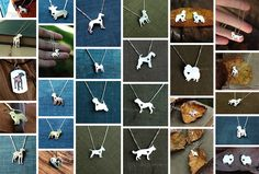 Amazing and Simple Jewellery for the Dog Lover - these are gorgeous!!
