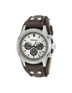 5cd8a3810 CH2565 En Stock ! Montre Homme Fossil Coachman CH2565 Bracelet de f.