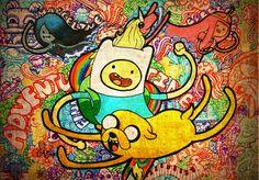 hora de aventura | Jack, Finn, Marceline, Rei Gelado e outros personagens de A Hora de ...